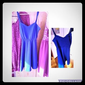 Blue Charlotte Russe dress